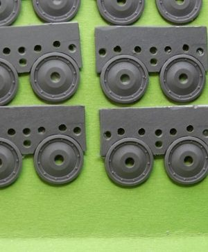 1/72 Wheels for Tiger I, early type 2