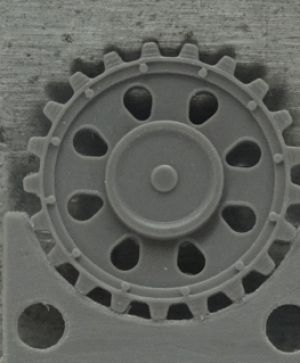 1/72 Sprockets for Pz.III ausf. C/D