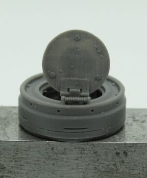 1/72 Commander cupola for Tiger I, early