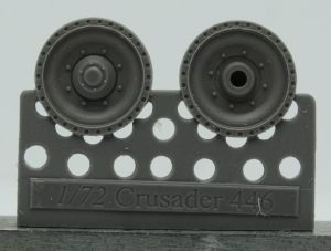 1/72 Wheels for Crusader and Covenander, type 1
