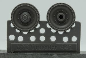 1/72 Wheels for Crusader and Covenander, type 2