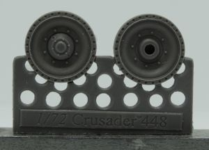 1/72 Wheels for Crusader and Covenander, type 3