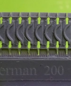 1/72 Tracks for M4 family, T54E2 with two extended end connectors type 1
